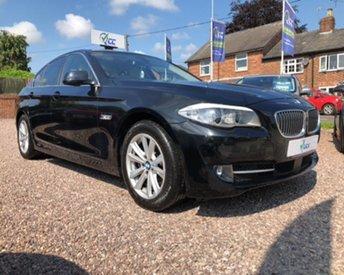 2012 BMW 5 SERIES 2.0 520D SE 4d AUTO 181 BHP £12795.00