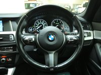 USED 2016 16 BMW 5 SERIES 2.0 520D M SPORT 4d AUTO 188 BHP 1 OWNER + FULL SERVICE HISTORY + FULL LEATHER + SAT NAV