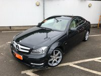USED 2012 61 MERCEDES-BENZ C CLASS 2.1 C250 CDI BLUEEFFICIENCY AMG SPORT ED125 2d AUTO 204 BHP