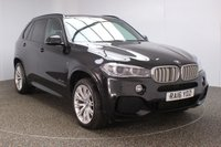 USED 2016 16 BMW X5 3.0 XDRIVE40D M SPORT 5DR AUTO SAT NAV HEATED LEATHER 1 OWNER 309 BHP FULL BMW SERVICE HISTORY + HEATED LEATHER SEATS + SATELLITE NAVIGATION PROFESSIONAL + PARKING SENSOR + DRIVING ASSISTANT + PARKING SENSOR + BLUETOOTH + CRUISE CONTROL + CLIMATE CONTROL + MULTI FUNCTION WHEEL + PRIVACY GLASS + XENON HEADLIGHTS + DAB RADIO + ELECTRIC/MEMORY SEATS + RADIO/CD/AUX/USB + ELECTRIC WINDOWS + ELECTRIC MIRRORS + 20 INCH ALLOY WHEELS