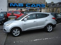 USED 2011 61 HYUNDAI IX35 1.6 STYLE GDI ISG 5d 133 BHP ONLY 64000 MILES FROM NEW