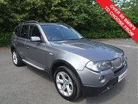 USED 2008 58 BMW X3 2.0 XDRIVE20D SE EDITION EXCLUSIVE 5d AUTO 175 BHP
