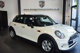 USED 2016 16 MINI HATCH COOPER 1.5 COOPER 5DR 134 BHP * NO ADMIN FEES * FINISHED IN STUNNING PEPPER WHITE  WITH CLOTH UPHOLSTERY + BLUETOOTH + DAB RADIO + AIR CONDITIONING + FRONT/REAR FOG LIGHTS + ALLOY WHEELS