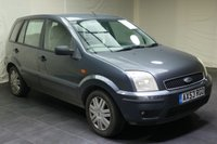 USED 2004 53 FORD FUSION 1.6 FUSION 3 5d 100 BHP MOT until 3 October 2019