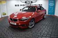 USED 2014 14 BMW 2 SERIES 2.0 218d M Sport (s/s) 2dr 1 OWNER, LOW MILES, FSH