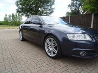 USED 2010 10 AUDI A6 2.0 TDI E S LINE 4d 134 BHP  PART EXCHANGE TO CLEAR