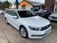 2015 VOLKSWAGEN PASSAT 2.0 SE BUSINESS TDI BLUEMOTION TECHNOLOGY 5d 148 BHP £8990.00