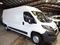 "USED 2014 64 PEUGEOT BOXER 2.2 HDI 335 L3H2 PROFESSIONAL P/V 130 BHP VAN ""YOU'RE IN SAFE HANDS"" - AA DEALER PROMISE"