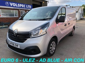 2016 RENAULT TRAFIC 1.6 SL27 BUSINESS PLUS ENERGY DCI 125 BHP [EURO 6] £7000.00