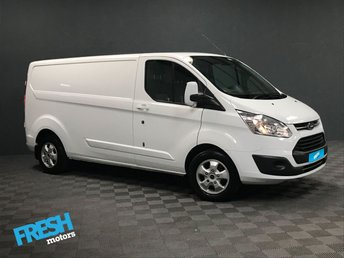 2016 FORD TRANSIT CUSTOM 2.0 290 LIMITED L2H1 £13385.00