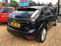 USED 2008 08 FORD FOCUS 1.6 ZETEC TDCI 5d 108 BHP PART SERVICE HISTORY: