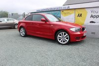 2009 BMW 1 SERIES 2.0 118D SE 2d 141 BHP  DIESEL RED