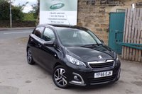 USED 2016 66 PEUGEOT 108 1.2 PURETECH ALLURE 5d 82 BHP One Owner