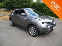 USED 2015 64 NISSAN JUKE 1.2 TEKNA DIG-T 5d 115 BHP Sat Nav, Reversing Camera, Full Leather Heated Seats, Alloy Wheels,Cruise Control