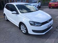 USED 2011 11 VOLKSWAGEN POLO 1.2 SE 3d 60 BHP