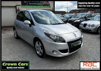 2011 RENAULT SCENIC 1.6 dCi Dynamique Tom Tom (s/s) 5dr £4250.00