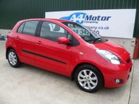 USED 2011 11 TOYOTA YARIS 1.33 T Spirit Multimode 5dr AUTOMATIC, 1.3 CC ,LOW MILES,