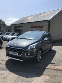 USED 2017 66 PEUGEOT 3008 1.6 BLUE HDI S/S ALLURE 5d AUTO 120 BHP