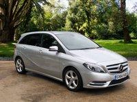 2015 MERCEDES-BENZ B CLASS 1.5 B180 CDI BLUEEFFICIENCY SPORT 5d AUTO 107 BHP £9995.00