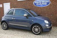 USED 2011 60 FIAT 500 1.2 BY DIESEL 3d 69 BHP
