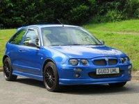 2003 MG ZR 1.8 120 STEPSPEED 3d 116 BHP £1500.00