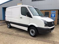 USED 2015 65 VOLKSWAGEN CRAFTER 2.0 CR35 TDI P/V 1d 109 BHP 1 OWNER SWB LOW ROOF IMMACULATE CONDITION LOW FOOF FINANCE AVAILABLE