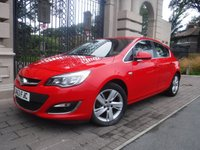 USED 2013 63 VAUXHALL ASTRA 2.0 SRI CDTI ECOFLEX S/S 5d 163 BHP ****FINANCE ARRANGED****PART EXCHANGE WELCOME***£30 TAX*REAR PS*CRUISE CONTROL*ECO MODE*AMFM*CD*AUX*A/C