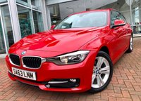 USED 2013 63 BMW 3 SERIES 2.0 318D SPORT 4d 141 BHP