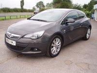 2014 VAUXHALL ASTRA 2.0 GTC SRI CDTI S/S 3d 162 BHP £5995.00