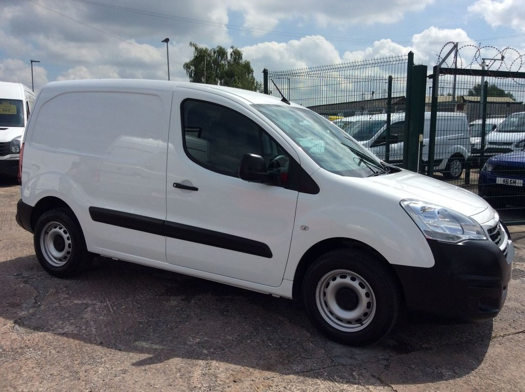 USED 2016 16 PEUGEOT PARTNER 1.6 HDI PROFESSIONAL L1 850 ATV 92 BHP 1 OWNER FSH NEW MOT AIR CON FREE 6 MONTH AA WARRANTY INCLUDING RECOVERY AND ASSIST NEW MOT EURO 5 ALL TERRAIN VEHICLE AIR CONDITIONING SATELLITE NAVIGATION SPARE KEY 3 SEATS ELECTRIC WINDOWS AND MIRRORS CRUISE CONTROL REAR PARKING SENSORS