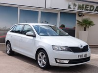 2017 SKODA RAPID 1.2 SPACEBACK SE TECH TSI 5d 89 BHP £8190.00