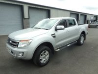 2015 FORD RANGER 2.2 LIMITED 4X4 DCB TDCI 1d 148 BHP SAT NAV LEATHER NO VAT £13991.00