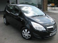 USED 2012 62 VAUXHALL MERIVA 1.7 EXCLUSIV AC CDTI 5d AUTO 108 BHP Full Vauxhall service history. Automatic. Air conditiong. Cruise Control. Bluetooth Cam belt done.
