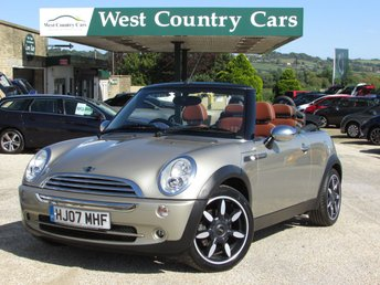 2007 MINI CONVERTIBLE 1.6 COOPER SIDEWALK 2d 114 BHP £4800.00