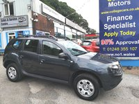 USED 2014 64 DACIA DUSTER 1.5 AMBIANCE DCI 5d 109 BHP, only 50000 miles, 4x4 ***APPROVED DEALER FOR CAR FINANCE247 AND ZUTO  ***