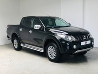 USED 2017 67 MITSUBISHI L200 2.4 DI-D 4WD BARBARIAN DCB 178 BHP ONLY COVERED 495 MILES FROM NEW + ONLY £17995 + VAT