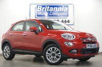 2016 FIAT 500X 1.4 MULTIAIR POP STAR 5 DOOR 140 BHP £8990.00