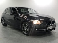 USED 2013 13 BMW 1 SERIES 2.0 118D SPORT 5d AUTO 141 BHP