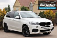 USED 2013 63 BMW X5 3.0 XDRIVE30D M SPORT 5d AUTO 255 BHP