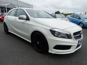 2014 MERCEDES-BENZ A CLASS 1.5 A180 CDI BLUEEFFICIENCY AMG SPORT 5d 109 BHP £11995.00