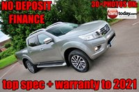 USED 2016 16 NISSAN NP300 NAVARA 2.3 DCI TEKNA 4X4 DOUBLE CAB PICK UP 190 BHP + ROLLER SHUTTER  1 KEEPER + ROLLER SHUTTER TOP + LOW MILES + NISSAN WARRANTY