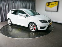 USED 2015 15 SEAT IBIZA 1.6 CR TDI FR 5d 104 BHP £0 DEPOSIT FINANCE AVAILABLE, AIR CONDITIONING, AUX INPUT, CD/MP3/RADIO, CLIMATE CONTROL, STEERING WHEEL CONTROLS, TRIP COMPUTER