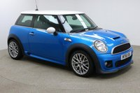 USED 2012 61 MINI HATCH COOPER 1.6 COOPER S 3d 184 BHP Finished in stunning blue with white roof + FULL SERVICE HISTROY + JOHN COOPER WORKS + BLUETOOTH + DAB RADIO + AIR CON + CRUISE CONTROL + MULTI FUNCTION WHEEL + ELECTRIC WINDOWS