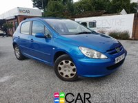 USED 2004 04 PEUGEOT 307 1.4 ENVY 5d 88 BHP PART EX TO CLEAR - TRADE SALE