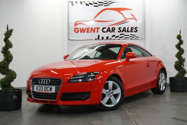 USED 2008 58 AUDI TT 2.0 TDI QUATTRO 3d 170 BHP IN RED  SUPPLIED WITH NEW CAMBELT AND WATER PUMP