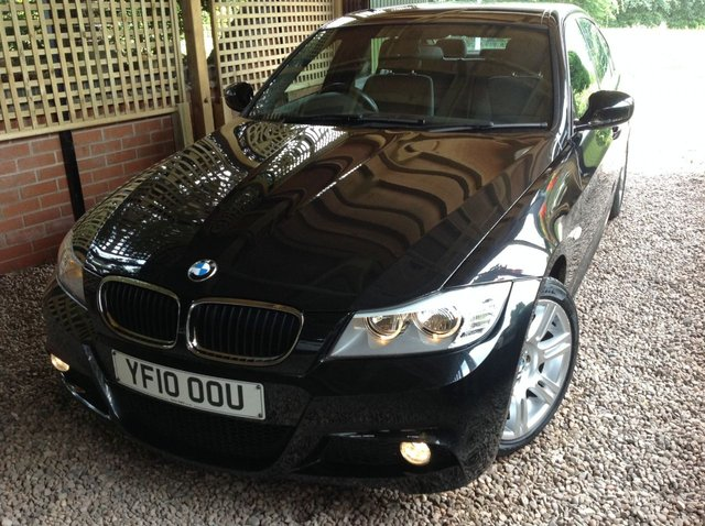 2010 10 BMW 3 SERIES 2.0 318D M SPORT 4d 141 BHP