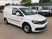USED 2016 66 VOLKSWAGEN CADDY 2.0 C20 TDI STARTLINE 102 BHP [EURO 6] LOW MILEAGE