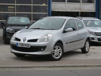 USED 2008 08 RENAULT CLIO 1.1 EXPRESSION 16V 3d 75 BHP