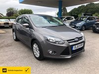 USED 2011 61 FORD FOCUS 1.6 TITANIUM 5d 124 BHP NEED FINANCE? WE CAN HELP!