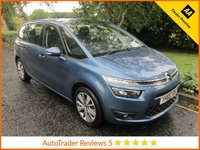 USED 2015 65 CITROEN C4 GRAND PICASSO 1.6 BLUEHDI SELECTION 5d 118 BHP. *ULEZ COMPLIANT*EURO 6* Great Value One Lady Owned Citroen Grand C4 Picasso with Seven Seats, Air Conditioning, Cruise Control,  Alloy Wheels and Citroen Service History. This Vehicle is ULEZ Compliant with a EURO 6 Rated Engine.